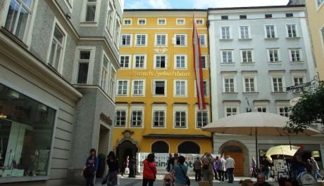 FOTO: Mozartův rodný dům