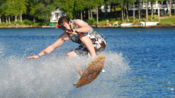 FOTO: wakeboarding