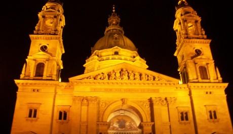 FOTO: Večerní Budapešť