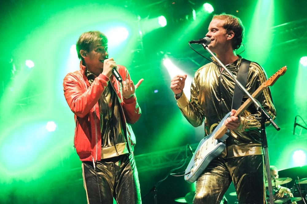 Foto: Skupina Nightwork, Sázavafest 2011