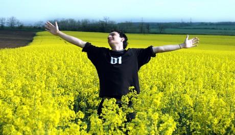 FOTO: Svoboda, člověk, lidi, květiny