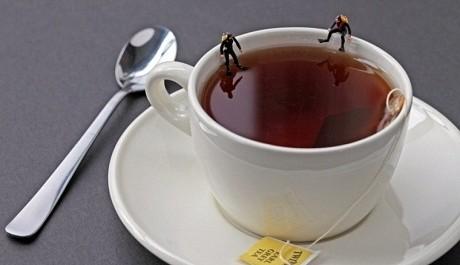 FOTO: Potápěči na šálku čaje, Christopher Boffoli