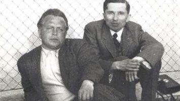 OBR: Jan Zahradnicek a František Halas