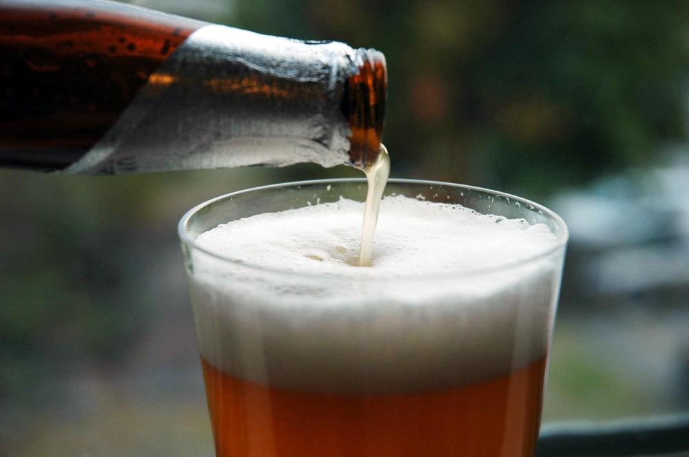 FOTO: Pivo nalévané z lahve