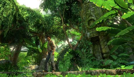 OBR.: Nathan Drake uprostřed džungle