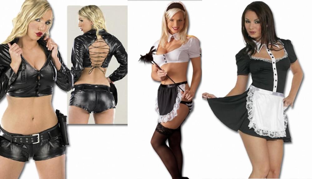 Sexy kostýmy porno
