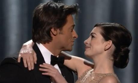 OBR: Anne Hathaway a Hugh Jackman