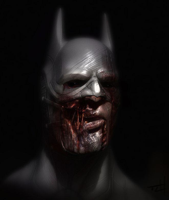 FOTO: Batman jako zombie