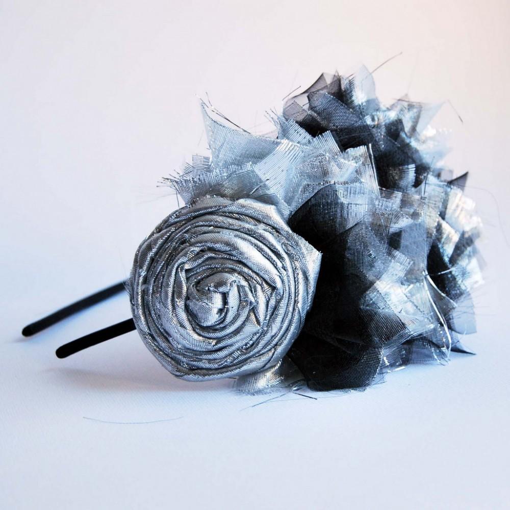OBR.: Čelenka stříbrná
