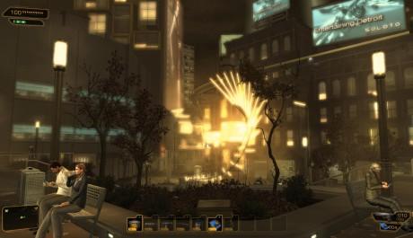 Deus Ex: Human Revolution - Detroit budoucnosti