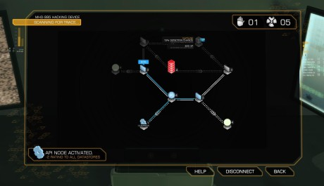 Deus Ex: Human Revolution - hackovací minihra