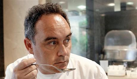 FOTO: Šéfkuchař Ferran Adria
