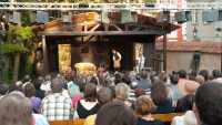 FOTO: Letní scéna Divadla Ungelt