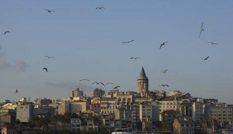 FOTO: Galatská věž je jednou z dominant města