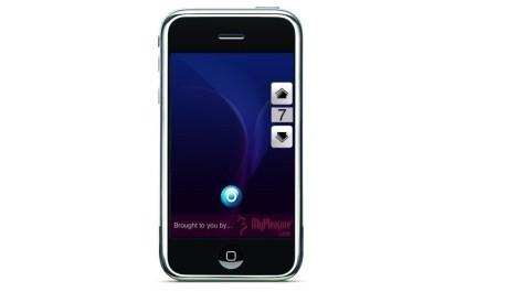 FOTO : Iphone s MyVibe app