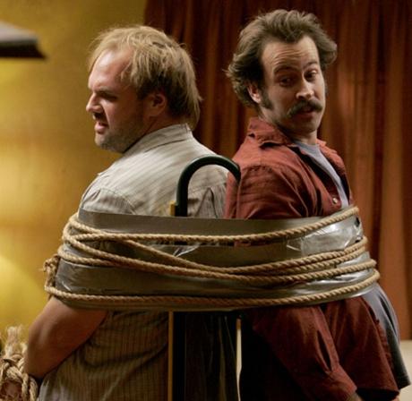 FOTO: Jason Lee a Ethan Suplee na fotografii ze seriálu Jmenuju se Earl