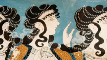 FOTO: Malby z paláce Knossos