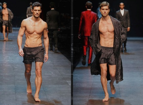 FOTO: Dolce & Gabbana pánská móda podzim zima 2011/2012