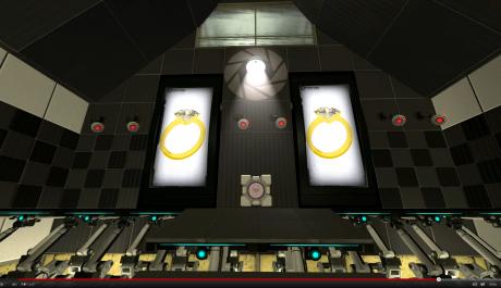 portal 2 žádost o ruku