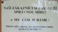 FOTO: Tabulka u vchodu do Riegrových sadů