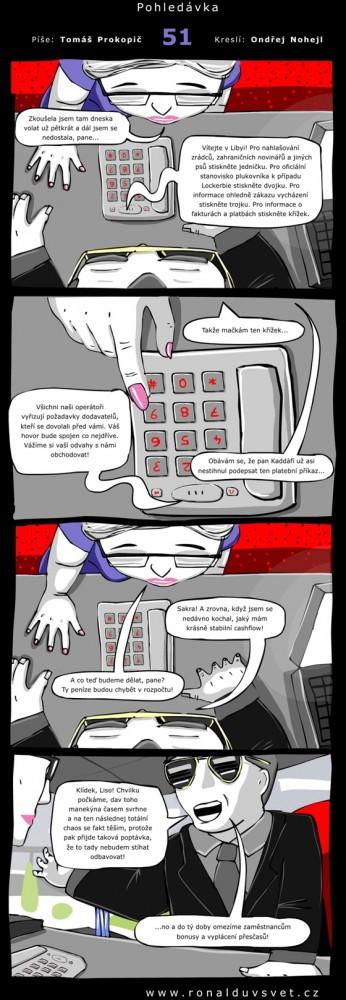 Ronaldův svět: #51 - Pohledávka