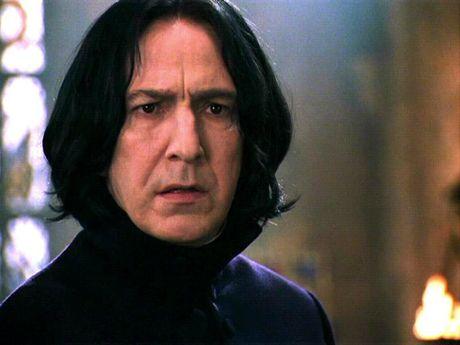 FOTO: Profesor Severus Snape ve filmu Harry Potter