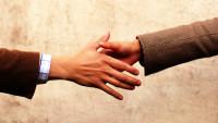 FOTO: Podání ruky