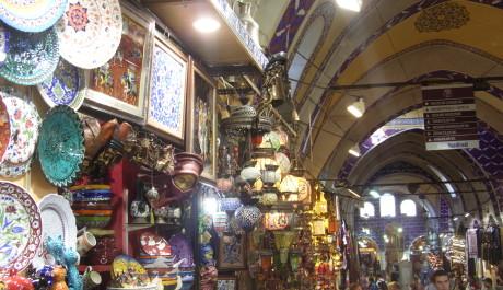 FOTO: Trh Velký bazar v Istanbulu