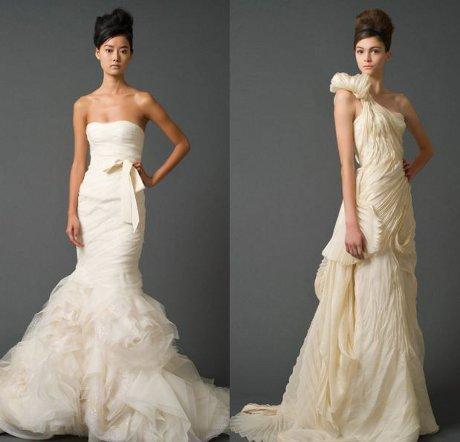 FOTO: Svatební šaty Vera Wang