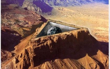 FOTO: Jeden z pouštních projektů Aleše Veselého