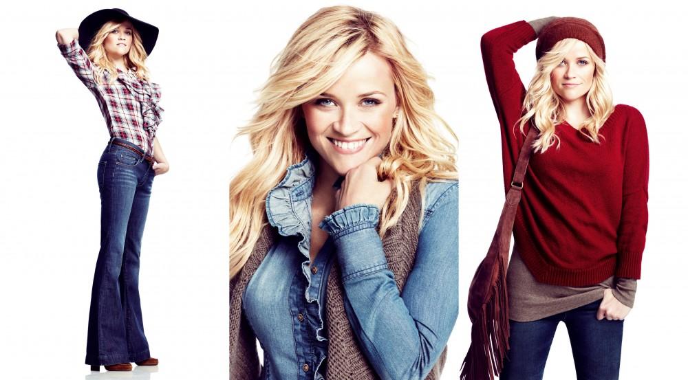 FOTO: Reese Witherspoon nafotila kampaň pro Lindex