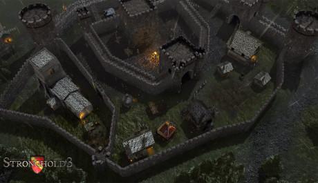 Stronghold 3 - opevnění