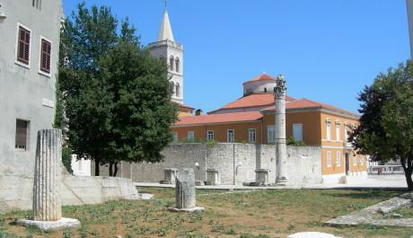 FOTO: Římské forum, Zadar, Chorvatsko