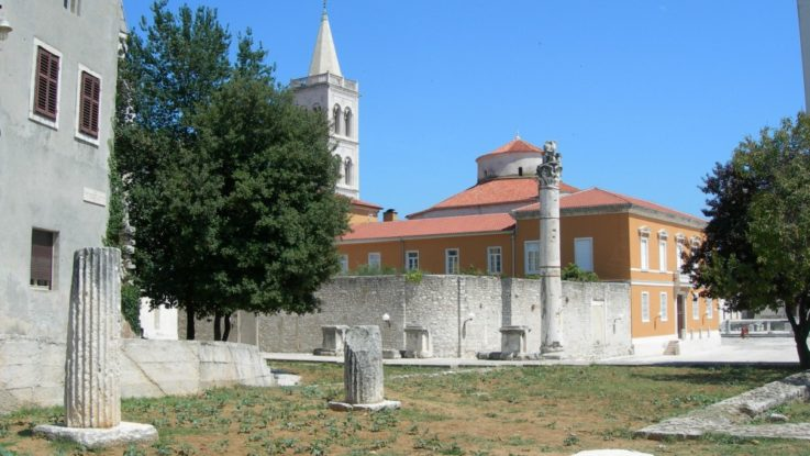 FOTO: Římské forum, Zadar, Chorvatsko, Foto: Linda Svobodová, Topzine.cz