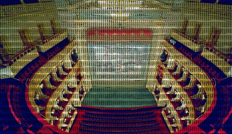 Interiér Národního divadla