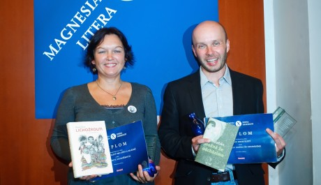 FOTO: Galina Miklínová a Miroslav Balaštík