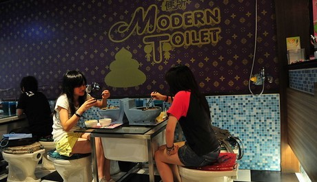 FOTO: Restaurace Modern Toilet