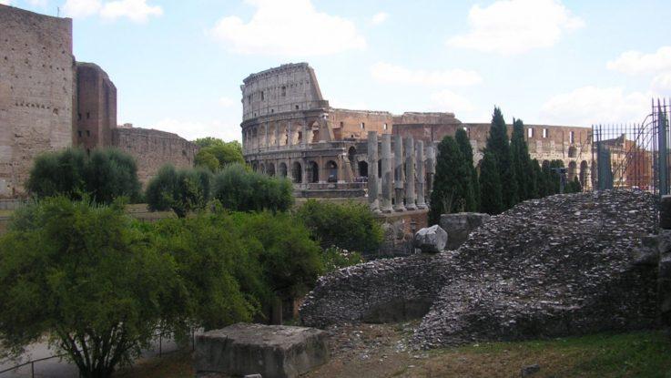 FOTO: Pohled na Koloseum