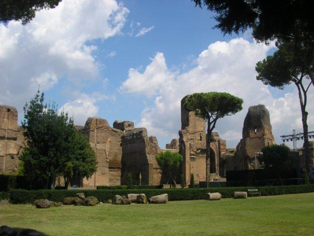 FOTO: Caracallovy lázně