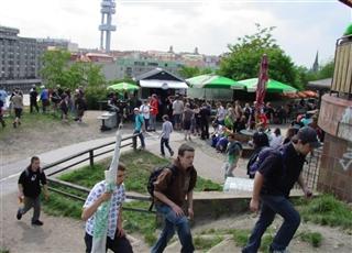 FOTO: Beer garden Parukářka