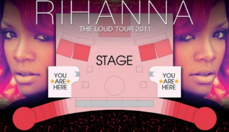 foto Stage Rihanna