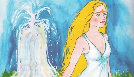FOTO: Princezna se zlatou hvězdou na čele