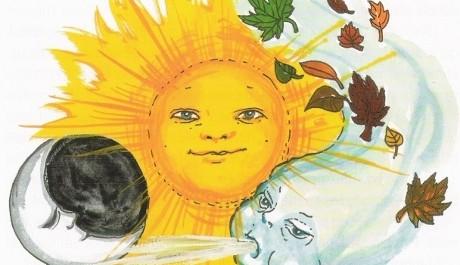 FOTO: Pohádku O Slunečníku, Měsíčníku a Větrníku zná jistě každé dítě