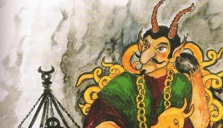 FOTO: V pekle to není žádná legrace! Kdo zlobí, peklo jej nemine.