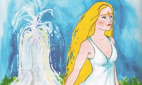 Princezna se zlatou hvězdou na čele zdroj ilustrace z knihy autor