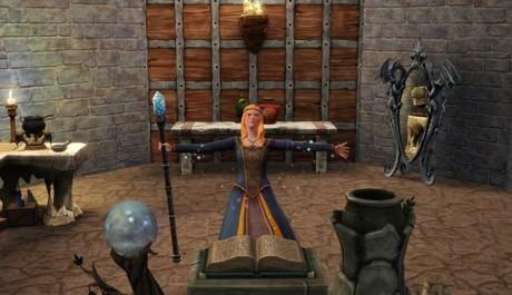 FOTO: The Sims Medieval - Kouzelnice