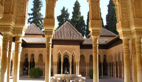 FOTO: Palác Alhambra v Andalusii