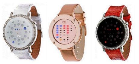 FOTO: Binární hodinky dámské
