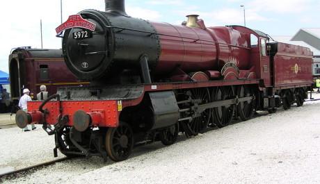 FOTO: Bradavický spěšný vlak