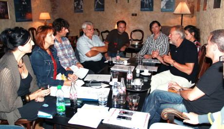 FOTO: Zkouška nové hry v Divadle Ungelt.